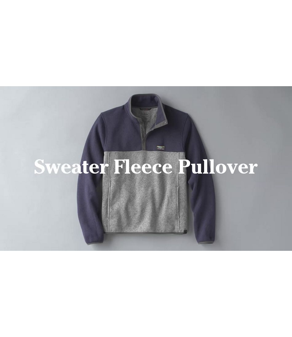 Video: Beans Sweater Fleece Pullover Mens