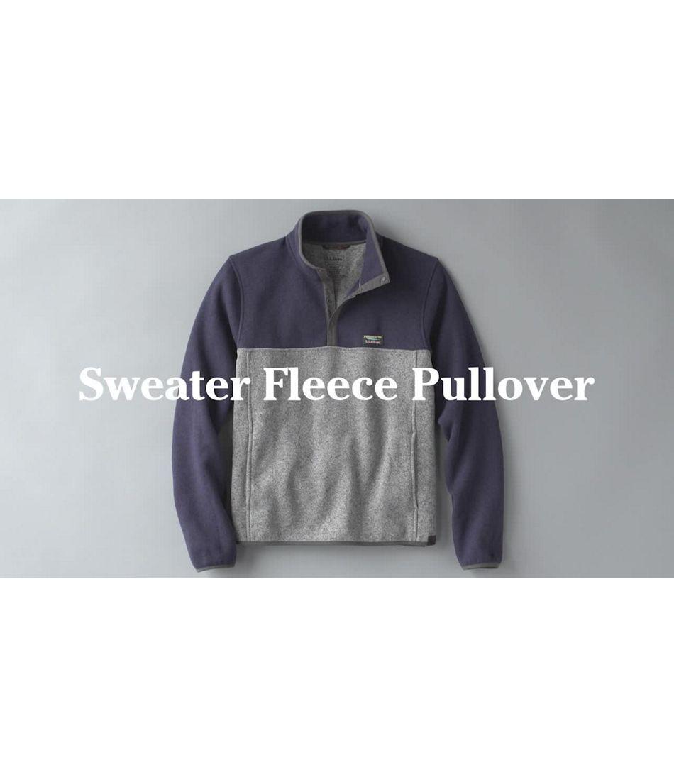 Video: Beans Sweater Fleece Pullover Mens