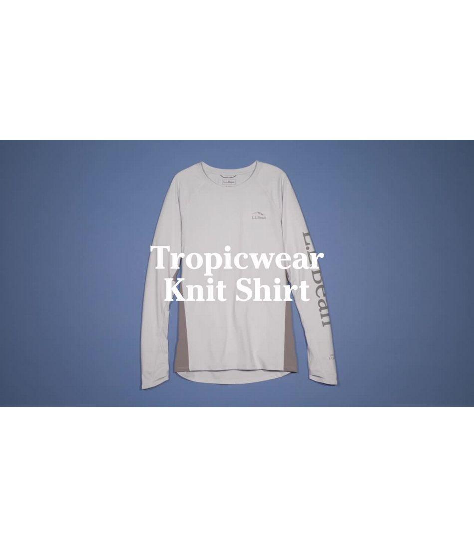 Video: Tropicwear Knit Crew Long-Sleeve Womens