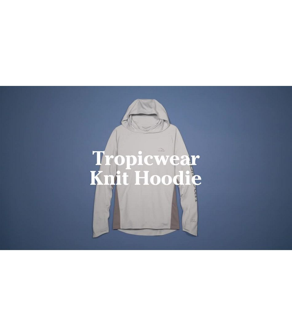Video: Tropicwear Knit Hoodie Mens