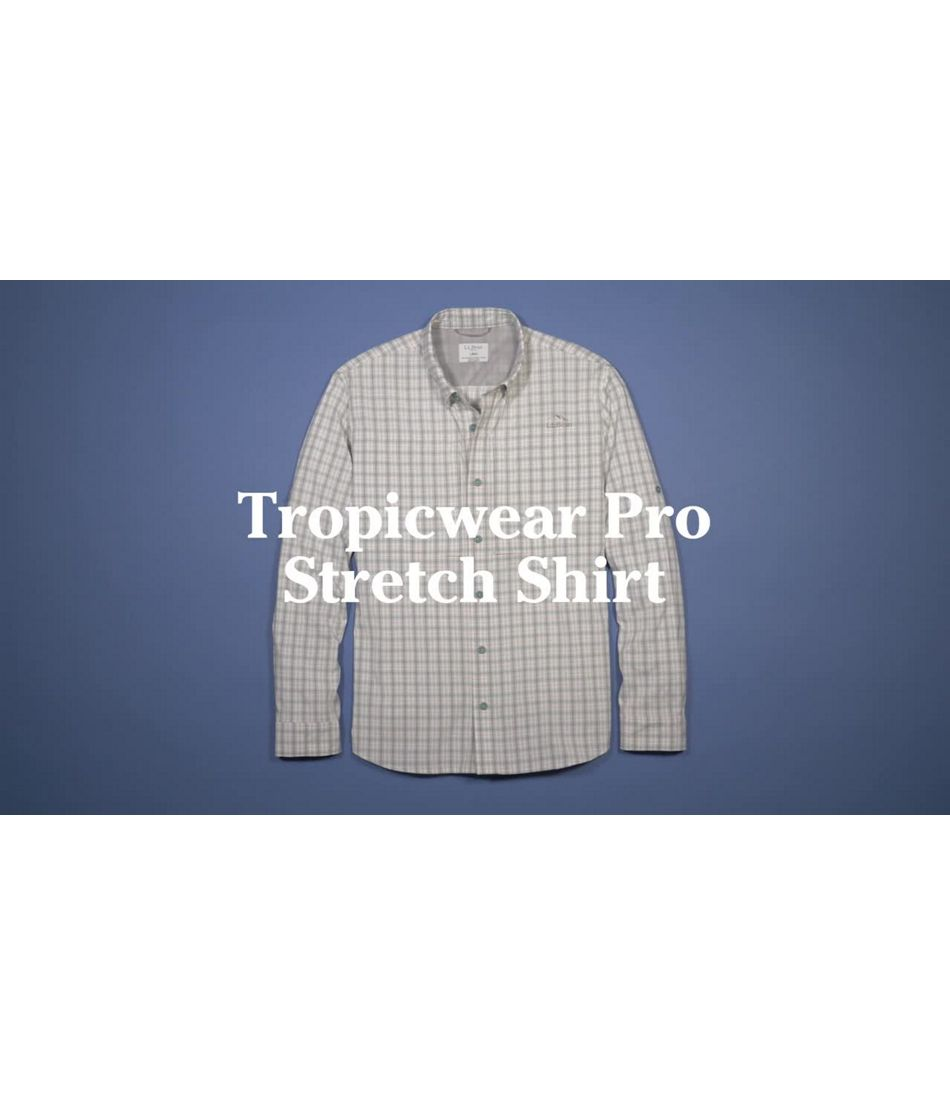 Video: Tropicwear Pro Stretch Shirt Long-Sleeve Mens