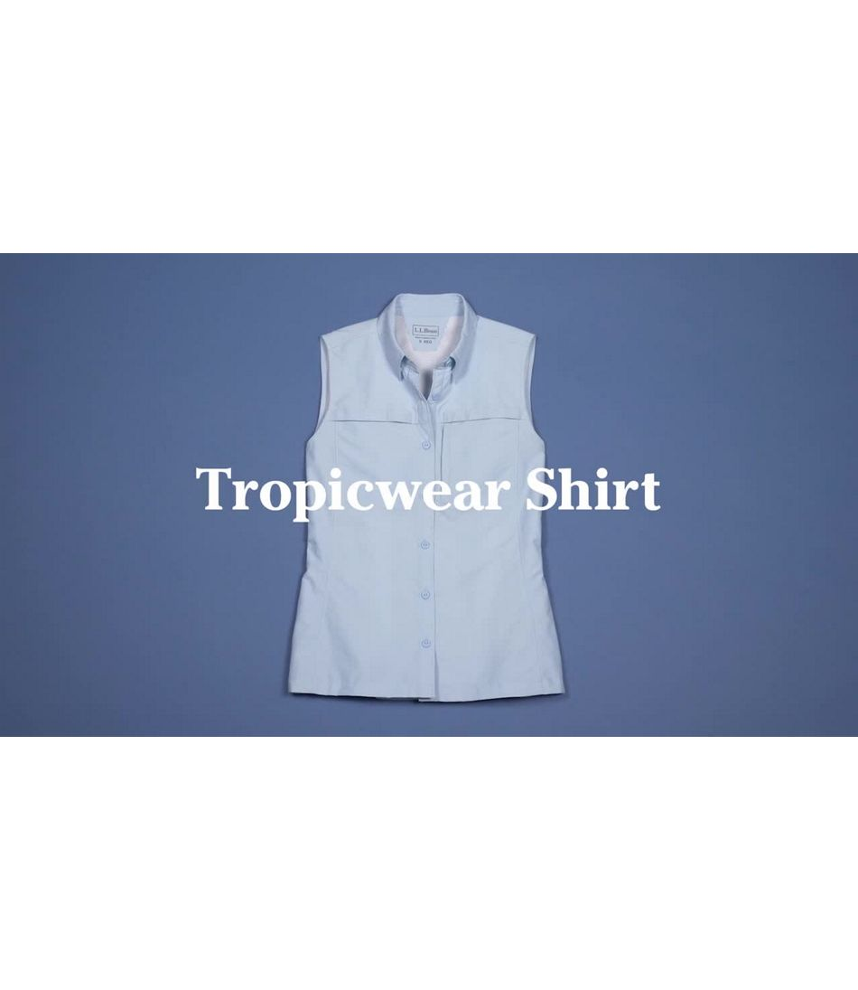 Video: Tropicwear Shirt Sleeveless Misses Regular