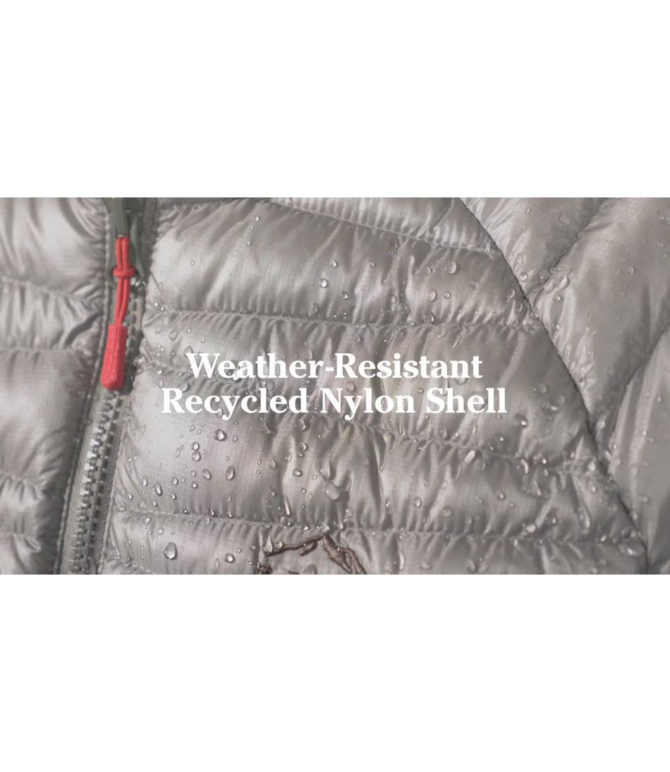 Video: Ultralight 850 Down Sweater Hooded Jacket Misses Regular