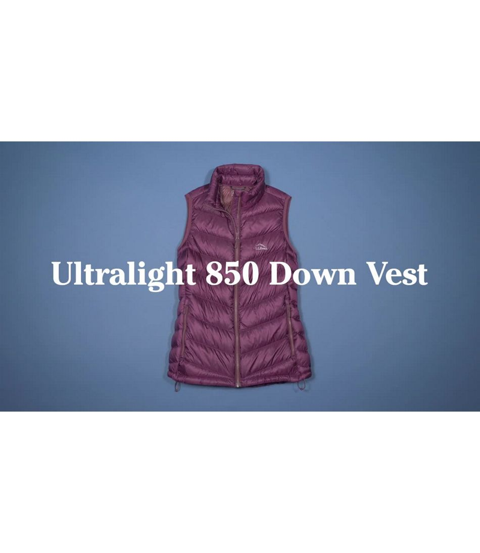 Video: Ultralight 850 Down Vest Misses
