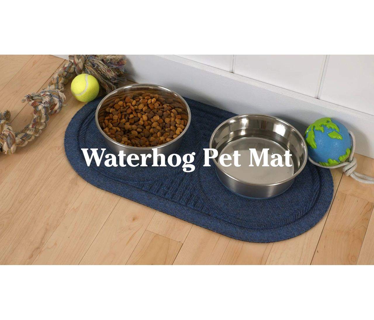 Video: Waterhog Pet Mat Placemat