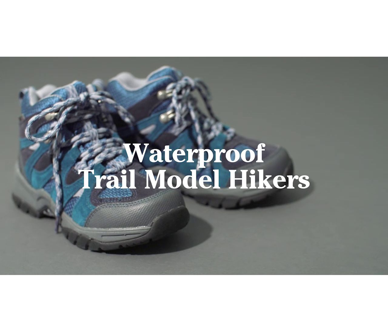 Video: Trail Model Hiker Waterproof Kids