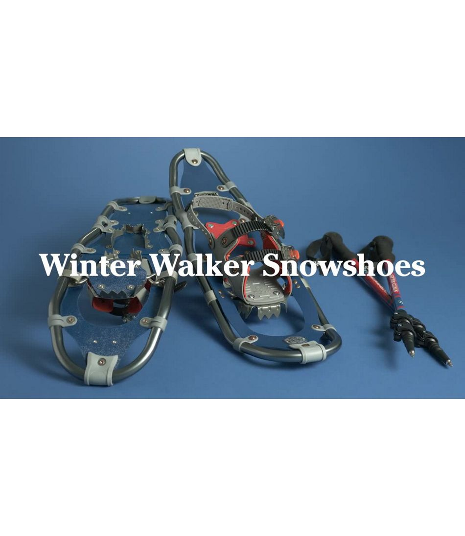 Video: Winter Walker Snowshoes Mens