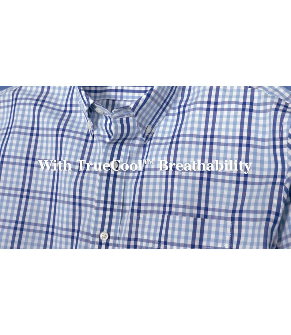 Video: Wrinkle-Free Vacationland Shirt Long Sleeve Gingham Mens