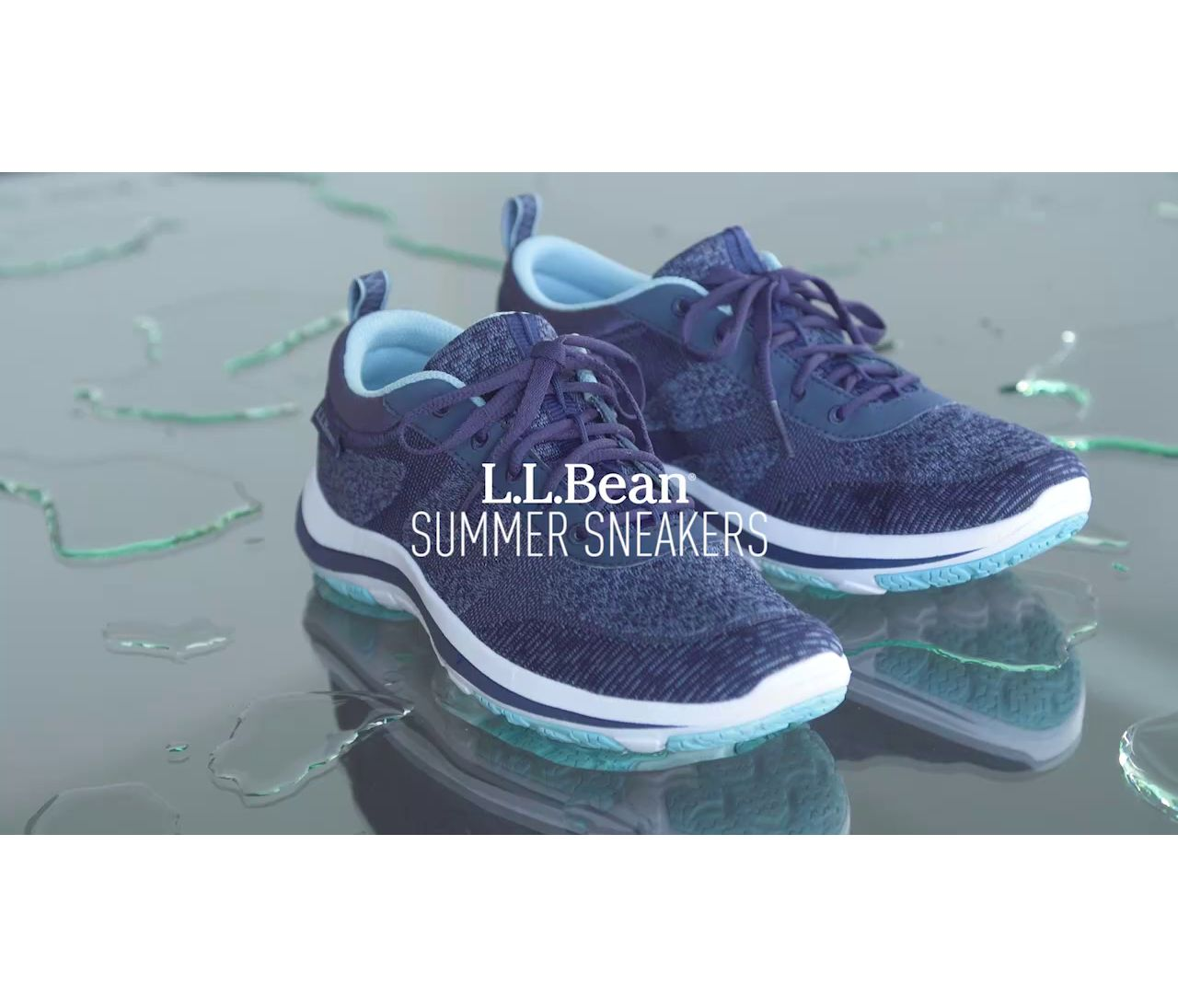 Video: Bean's Summer Sneaker Lace Up W's