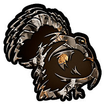 Shadow Gobbler Standard Truck Window Decal at Legendary Whitetails