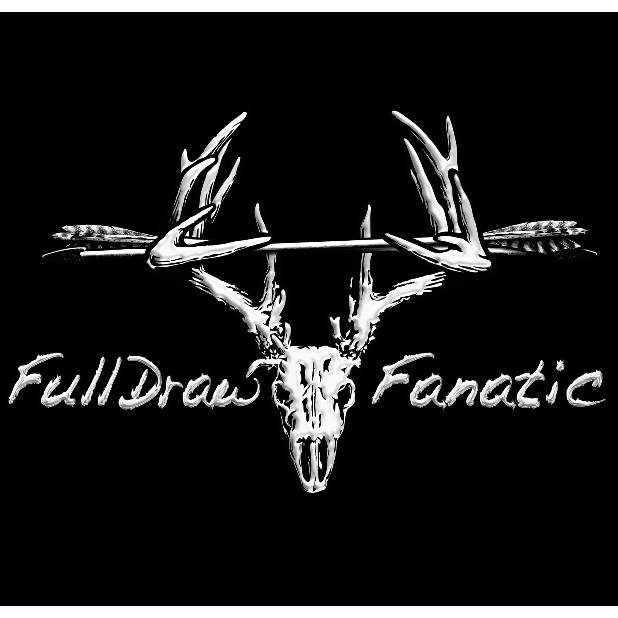 Full Draw Fanatic Decal Legendary Whitetails - Rear window hunting decals for truckstruck decals stickers rear window graphics legendary whitetails