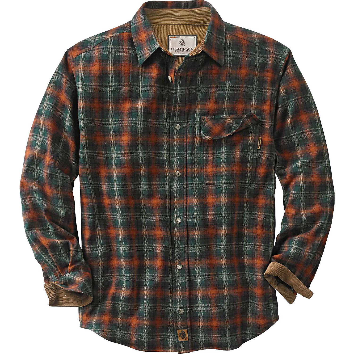 Mens Purple Flannel Shirt
