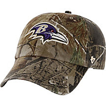 Baltimore Ravens Realtree Camo Clean Up Cap at Legendary Whitetails