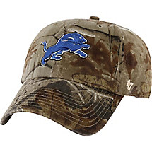 Detroit Lions Realtree Camo Clean Up Cap at Legendary Whitetails