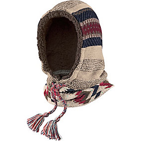 Americana Knit 3-In-1 Hooded Neck Warmer