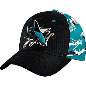 San Jose NHL Team Camo Cap