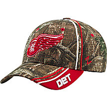 Detroit Red Wings Mossy Oak Camo NHL Slash Cap at Legendary Whitetails