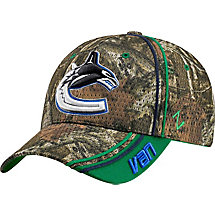 Vancouver Canucks Mossy Oak Camo NHL Slash Cap at Legendary Whitetails