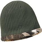 Mens Trophy Buck Reversible Knit Hat