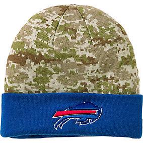 Buffalo Bills NFL Camo Knit Hat