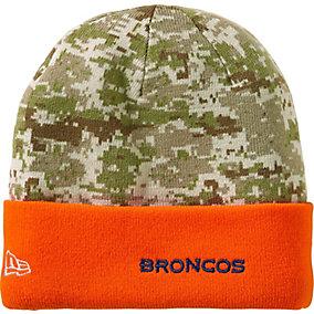 Denver Broncos NFL Camo Knit Hat