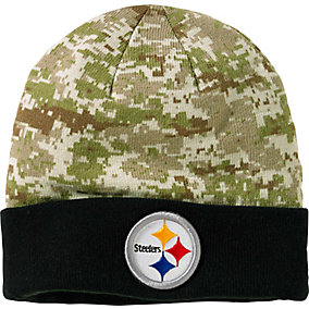 Pittsburgh Steelers NFL Camo Knit Hat