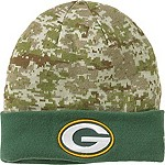 Mens NFL Camo Knit Hat
