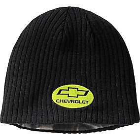 Ford & Chevy 4X4 Reversible Knit Beanie