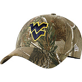 West Virginia Realtree Collegiate Cap