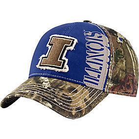 Illinois Camo Captain Collegiate Cap