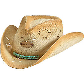 Ladies Ropes and Reins Cowgirl Hat