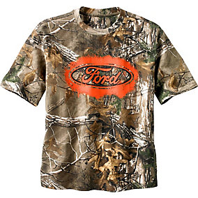 Trucked Up Ford Camo S/S Tee