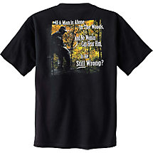 Laws of Nature Short Sleeve Hunters T-Shirt at Legendary Whitetails