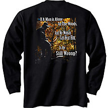 Laws of Nature Long Sleeve Hunters T-Shirt at Legendary Whitetails