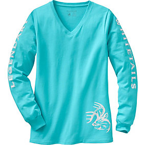 Ladies Non-Typical Long Sleeve Tee