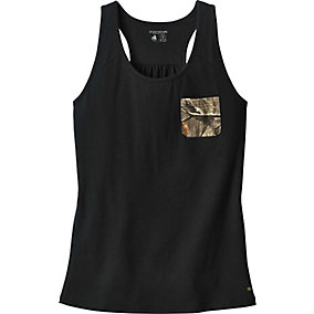Ladies Oak Tree Reveal Pocket Tank