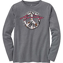 Ladies Harmony Long Sleeve Crew T-Shirt at Legendary Whitetails