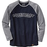 Mens Alpine Lodge Raglan L/S Crew