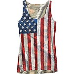 Ladies Camo Nation Tank