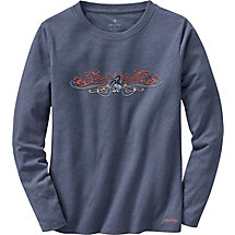 Ladies Cypress Long Sleeve Crew Neck T-Shirt at Legendary Whitetails