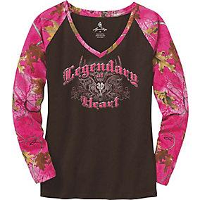 Ladies Legendary At Heart V-Neck