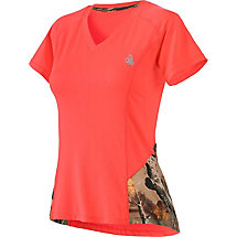 Ladies Sunrise Performance Short Sleeve T-Shirt at Legendary Whitetails