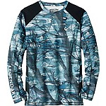Mens Crystal Bay L/S Performance Tee