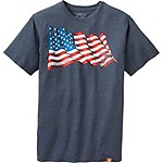 Mens Proud To Be Americana Tee