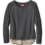 Ladies Hide-n-Seek Raglan L/S Pullover