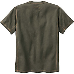 Mens Short Sleeve Maverick Slub Henley