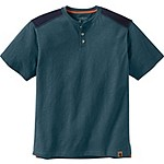 Mens Ranger Short Sleeve Henley