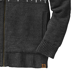 Mens First Frost Quilted Sweater