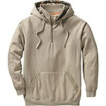 Mens Big Camp 1/4 Zip Hoodie