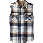 Mens Big Country Sleeveless Flannel